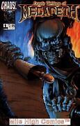 Megadeth Comic