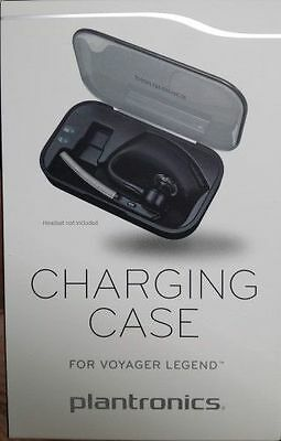 Plantronics Bluetooth Headset Voyager Legend Charge Case   Black