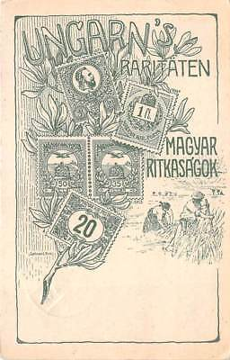 HUNGARY, STAMP PC, Special Cachet & Cancel for Only One Day Usage in 1925