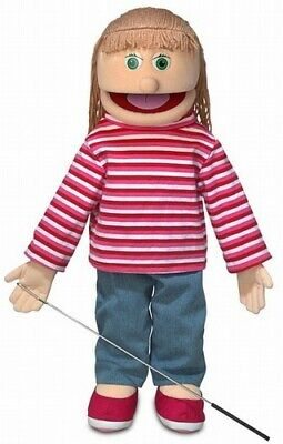 Silly Puppets Emily (Caucasian) 25 inch Full Body Puppet