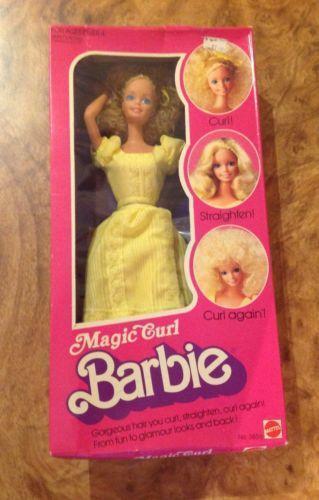 Magic Curl Barbie Ebay