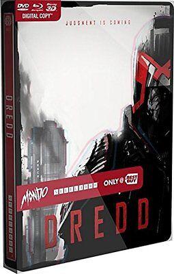 Dredd: Best Buy MONDO X Exclusive SteelBook #005 [Blu-ray 3D + 2D + DVD]