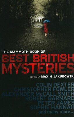 THE MAMMOTH BOOK OF BEST BRITISH CRIME __ BRAND NEW __ FREEPOST