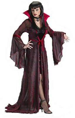 Fun World Women's Shimmering Rose Vampiress Costume Size M/L 8-14