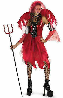 Disguise USA 2301 Devil Fairy Costume Cosplay Halloween Clearance NEW