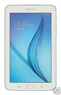 """Tablet - Samsung Galaxy Tab E Lite 7"""" Android Tablet w/ 8GB Memory & MicroSD Slot, White"""