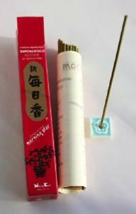 Japanese Incense Sticks | Morning Star | Sandalwood | 50 Sticks | by Nippon Kodo