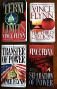 Vince Flynn 11 Book Lot ~ Mitch Rap (10) and American Assassin ~Free Ship