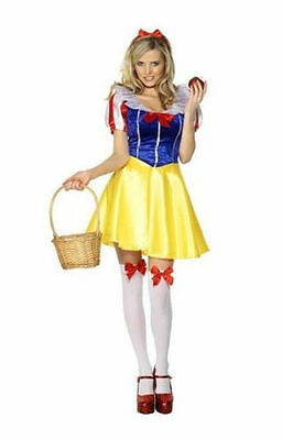 Sexy Princess Snow White Dress Costume Outfit for Cosplay/Halloween/Party - White Dress For Halloween Costume