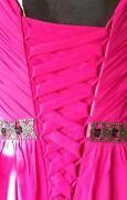 Fushia Pink Bridesmaid Dresses