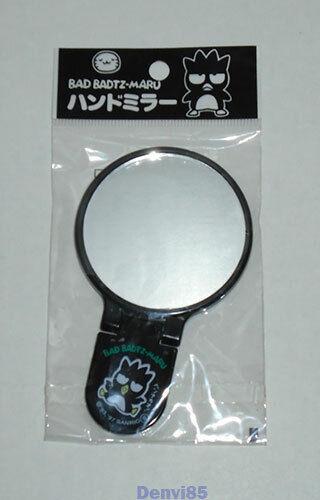 VINTAGE! 1997 Sanrio BADTZ MARU Hand-Held Mirror from JAPAN! NEW!