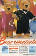 Teddy Bear Clothes Patterns