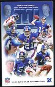 New York Giants Media Guide