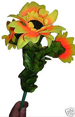 Wilting DROOPING SUN FLOWER BOUQUET Comedy Clown Magic Trick Sunflower Large Toy - Wilting Flower