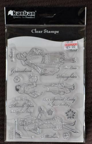 Ladies Rubber Stamps Ebay