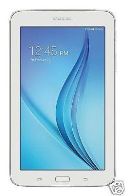 """Samsung Galaxy Tab E Lite 7"""" Android Tablet w/ 8GB Memory & MicroSD Slot, White"""