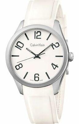 Reloj Calvin Klein K5E511K2 Acero 316 L Blanco para Hombre