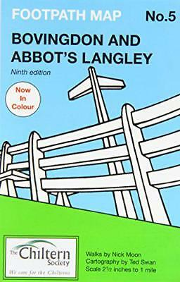Bovingdon Y Abbots Langley (Chiltern Society Footpath Maps Serie) Por Nick Moo