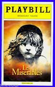 Les Miserables Playbill