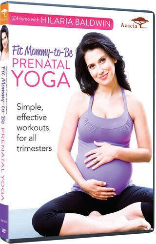 Hilaria Baldwin: Prenatal Yoga (2013, DVD NEW)