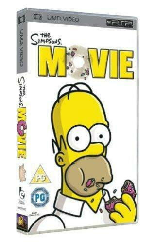 The Simpsons Movie (psp tweedehands film)