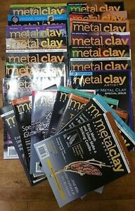 Metal Clay Magazine Lot  - PMC  in Amherst Can Ship