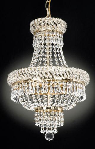 Empire Crystal Chandelier Ebay