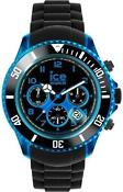 Mens Blue Ice Watch