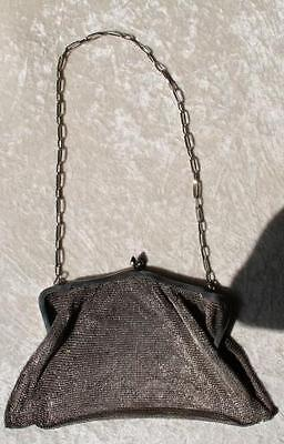 echt Silber Kettentasche Abendtasche Tasche gepunzt 800 Gewicht 269 Gramm /253