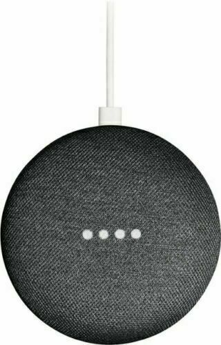 Google Home Mini Smart Speaker with Google Assistantt - Charcoal (GA00216-US)