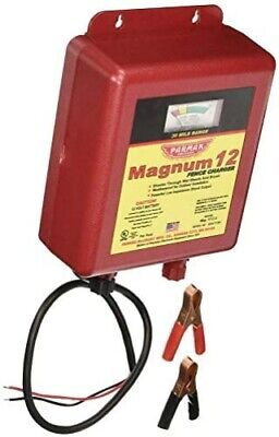 Parmak Mag12-uo 12-volt Magnum Low Impedance Battery Operated 30-mile Range Ele
