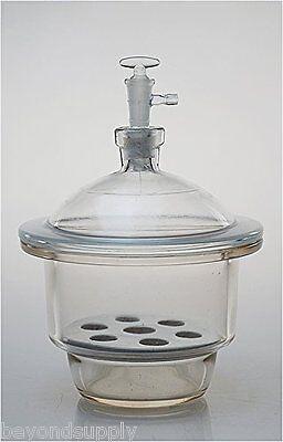 Lab Glass Vacuum Desiccator Jar Dryer 120mm New
