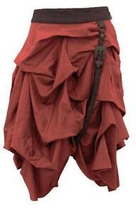 Brown Steampunk Skirt e492c0ef987