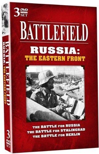 Battlefield Russia: The Eastern Front [3 Discs] (2010, REGION 1 DVD New)