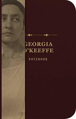 Georgia o'Keeffe Signature Cuaderno De Sidra Molino Prensa,Nuevo Libro,Libre Y D