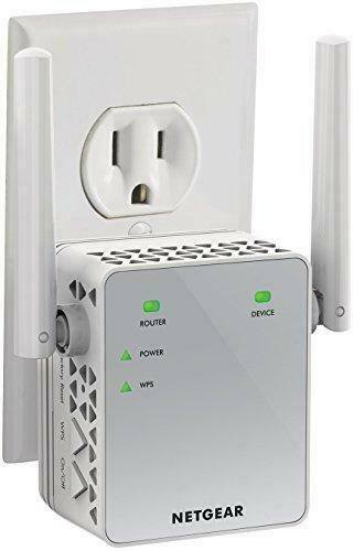 NETGEAR Wi-Fi Range Extender EX3700 - Coverage Up to 1000 Sq Ft and 15 Devices