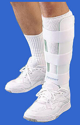 - AirCast Leg Brace without Anterior Panel NEW 03Ax, 03Cx