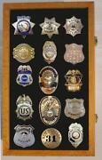 Badge Display Case