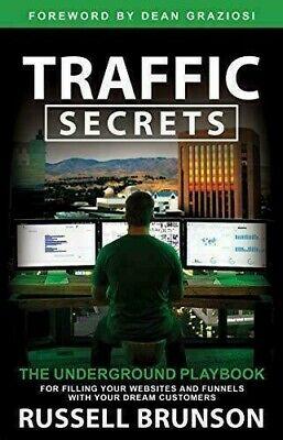 New Traffic Secrets Audiobook By Russell Brunson Funnel Hacks 2 Bonuses