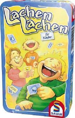 Lachen Lachen für Kinder Schmidt Spiele in Metallbox Metalldose