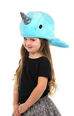 Blue Narwhal Plush Hat by elope - Narwhal Costume