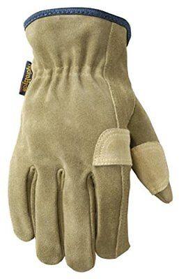 Wells Lamont Leather Fencer Work Gloves Hydrahyde Suede Cowhide Large 1019l