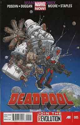 DEADPOOL #5 MARVEL NOW NEW 2013 RELEASE vs - Zombie Reagan