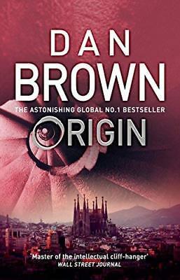 Origin by Dan Brown New Paperback Book