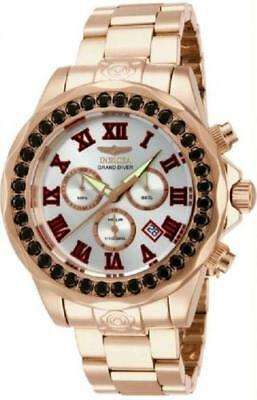 Invicta 14537 Men's Grand Diver Swiss Limited Chronograph Gem Rose Gold Watch