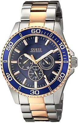U0172G3 - New Theory Two Tone Stainless Steel Multifunction Men' s Latest Inspect