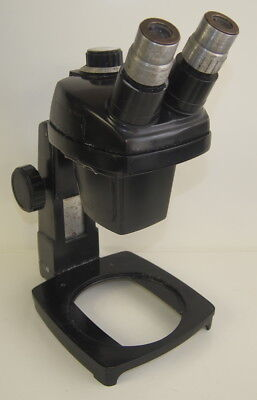 Bausch Lomb Stereo Zoom Microscope 0.7-3x W 15x Eyepieces On A Stand