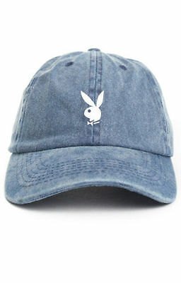 playboy bunny custom unstructured dad hat baseball