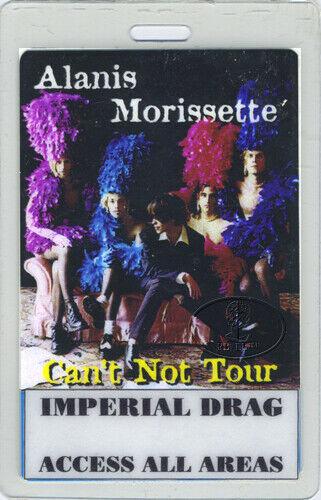 ALANIS MORISSETTE 1996 Tour Laminated Backstage Pass