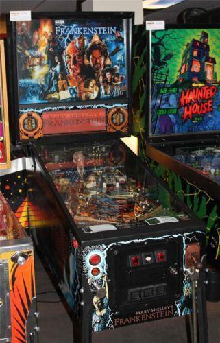 Star Wars Pinball Machine >> Frankenstein Pinball | eBay